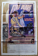 Star Wars (1977) US One Sheet Style D